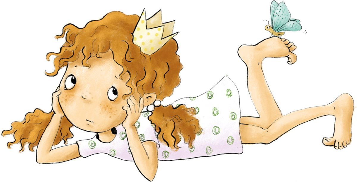 traurige Prinzessin
